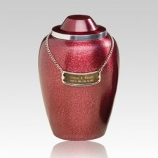 Pet Burgundy Large Cremation Urn