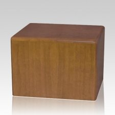 Walnut Large Pet Cremation Urn