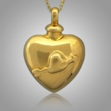 Pet Arrow Heart Cremation Pendant II