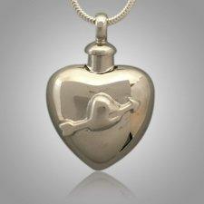 Pet Arrow Heart Cremation Pendant
