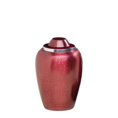 Pet Burgundy Medium Cremation Urn