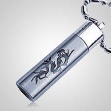 Pet Dragon Cremation Keychain