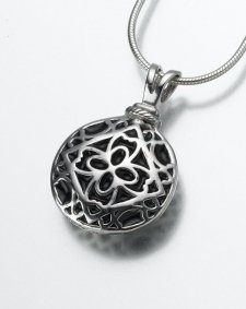 Pet Filigree Memorial Pendants II