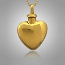 Pet Heart Cremation Pendant II