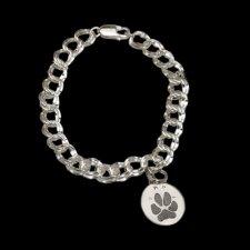 Pet Paw Print Charm Bracelet