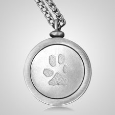 Pet Paws Memory Keychain
