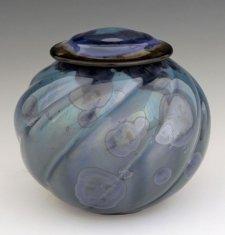 Blue Pet Porcelain Cremation Urn