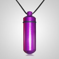 Pet Purple Memorial Pendant