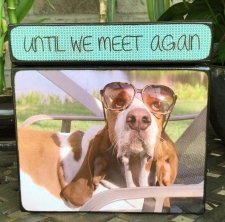 Photo Cube Small Pet Urn