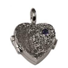 Petite Heart Locket Print Keepsakes
