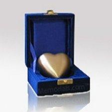 Bronze Heart Keepsake Cremation Urn