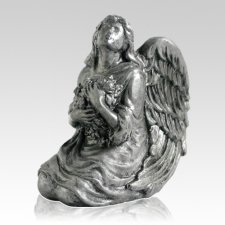 Pewter Angel Pet Urn