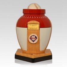 Philadelphia Phillies Baseball Cremation Urn