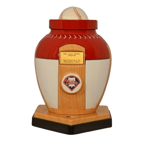 Philadelphia Phillies Baseball Cremation Urn