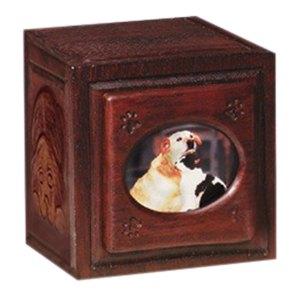 Dark Large Dog & Cat Cremation Urn