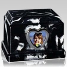 Photo Heart Keepsake Urn