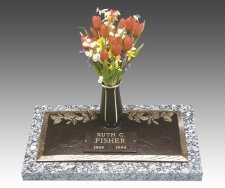 Rose Individual Cremation Grave Marker