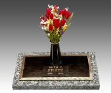 Simplicity Individual Cremation Grave Marker
