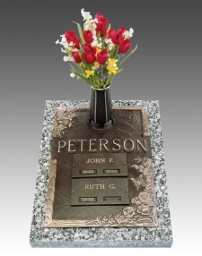 Resurrection Companion Cremation Grave Marker