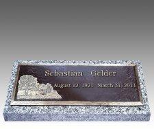 Companion Bronze Grave Markers II