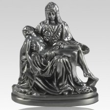 Pieta Pewter Keepsake Cremation Urn