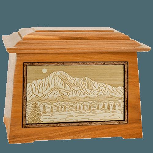 Pikes Peak Mahogany Aristocrat Cremation Urn