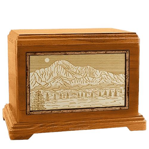 Pikes Peak Mahogany Hampton Cremation Urn