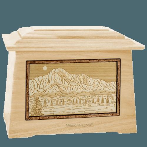 Pikes Peak Maple Aristocrat Cremation Urn