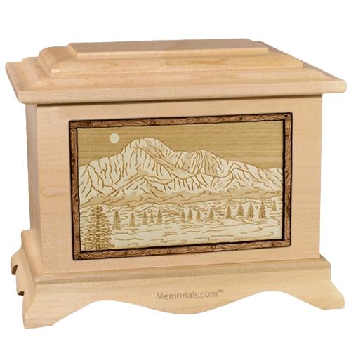 Pikes Peak Maple Cremation Urn