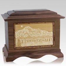 Pikes Peak Wood Cremation Urns