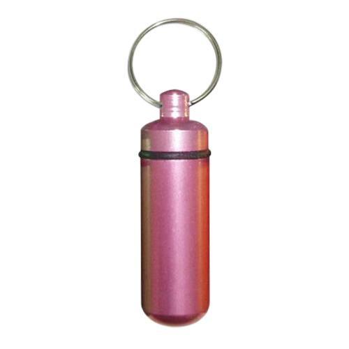 Pink Cremation Keychain