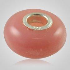 Pink Elegance Cremation Ash Bead