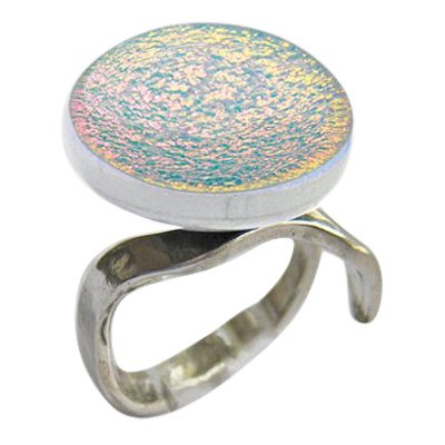 Pink Eternity Ashes Ring