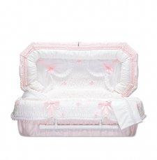 Pink Fair Premie Child Casket