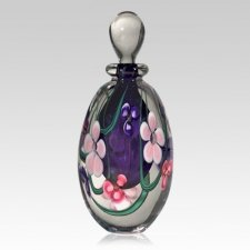 Pink Flower Hyacinth Keepsake Urn