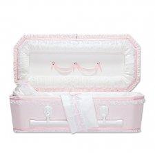 Pink Love Premie Child Casket