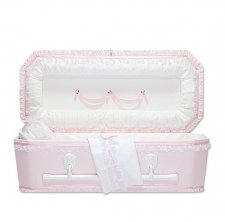 Pink Love Child Caskets
