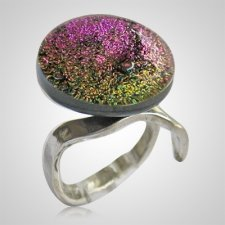 Pink Memorial Ashes Ring