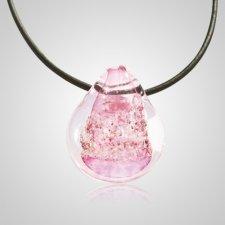 Pink Memorial Jewelry Pendant