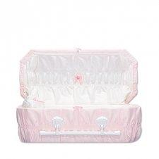 Pink Reverie Premie Child Casket