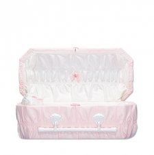 Pink Reverie Small Child Casket