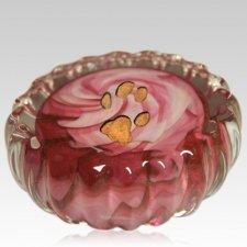 Pink Swirl Pet Keepsake Urn