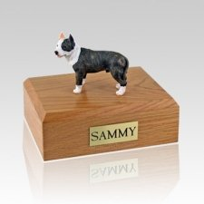 Pit Bull Terrier Brindle Dog Urns