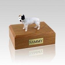 Pit Bull Terrier White Large Dog Urn