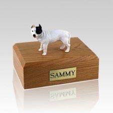 Pit Bull Terrier White X Large Dog Urn