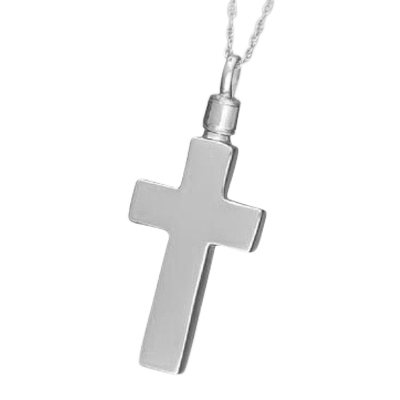 Classic Cross Cremation Jewelry
