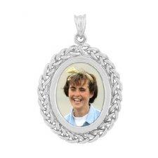 Plait Silver Photo Jewelry