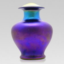 Plum Glass Cremation Urns