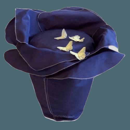 Plum Petals Cremation Urn