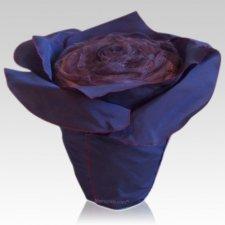 Plum Rose Cremation Urn